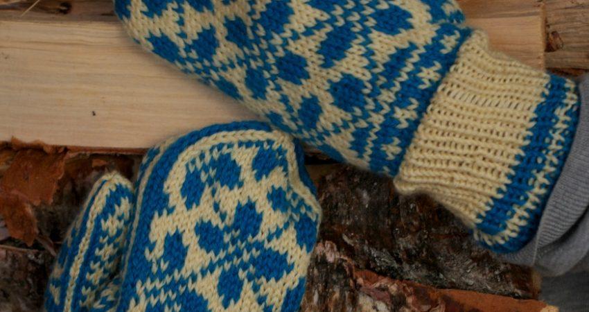 Free Mitten Pattern By ARNE CARLOS ARNE CARLOS Beauteous Mitten Patterns